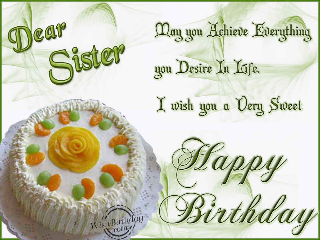 20 Birthday Wishes For Sister