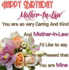 Happy Birthday Mother In Law Wishes And Greetings