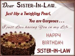 Best 50 Lovely Birthday Wishes For Sister In Law - Birthday