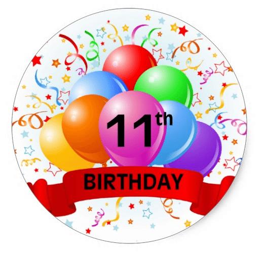 Best 50 11th Birthday 2016