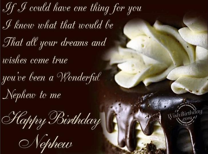 50+ Happy Birthday Wishes For Nephew - Birthday Wishes Zone