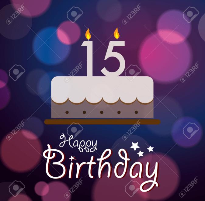 Best 15th Birthday Wishes