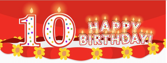 Image result for happy 10th birthday