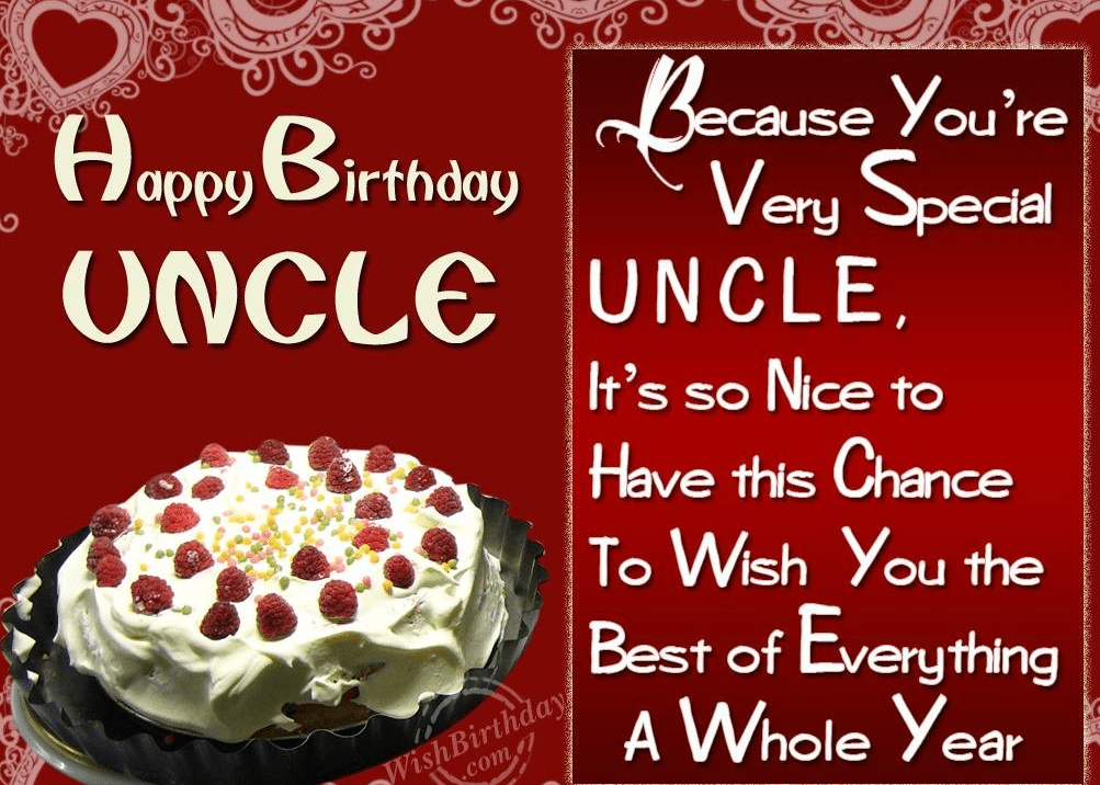 50 Birthday Wishes For Uncle - Birthday Wishes Zone