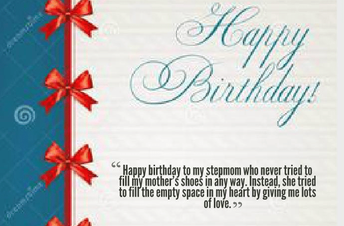 50 Outstanding Birthday Wishes For Step Mother - Birthday Wishes Zone