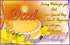 20 Birthday Wishes For Dad