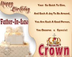 20 Birthday Wishes For Father In Law