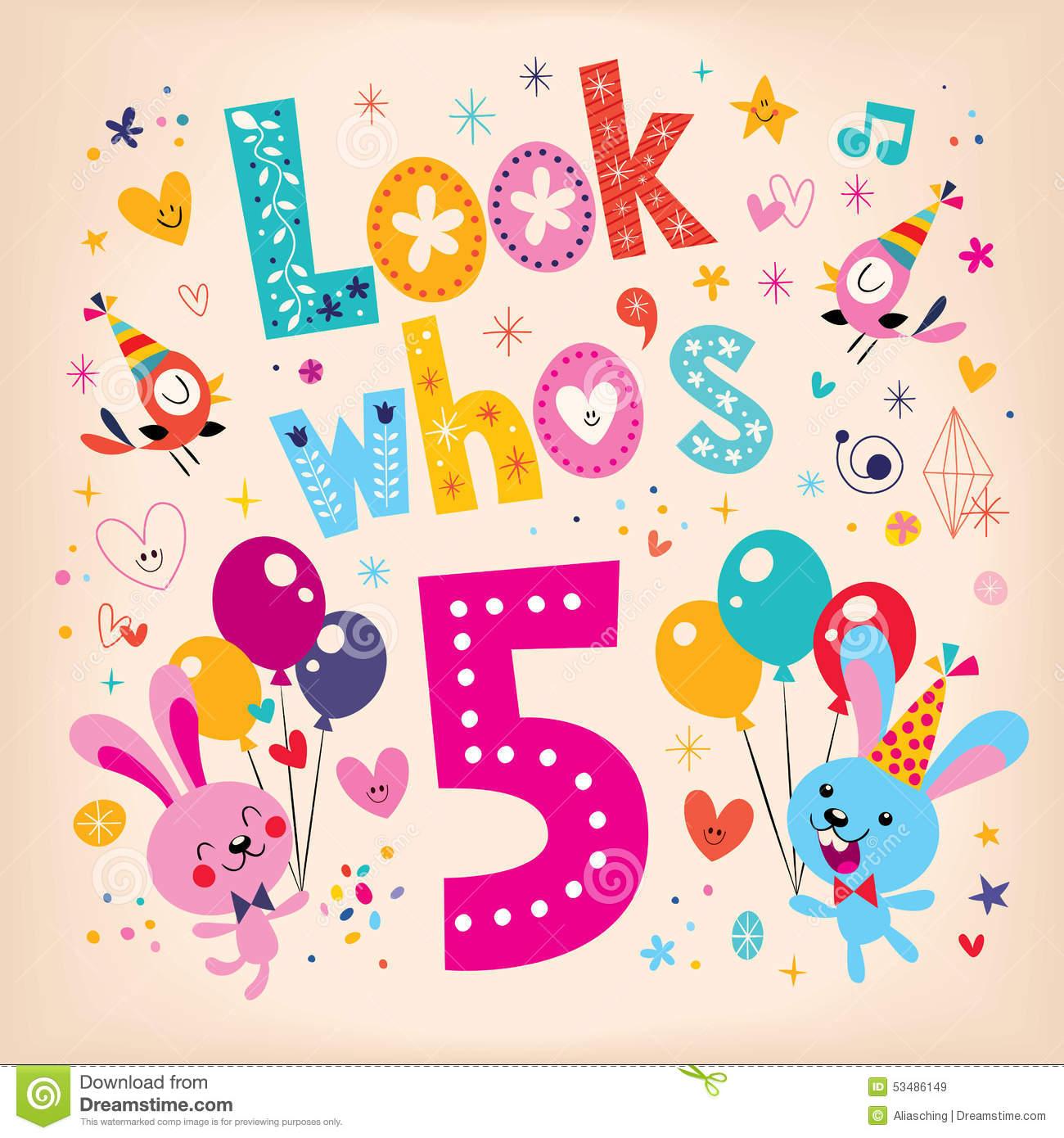 Awosme 5th Birthday Wishes 2016 Birthday Wishes Zone