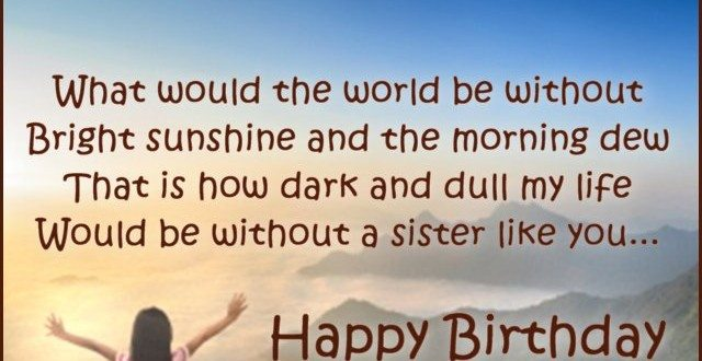 100 Happy Birthday Wishes For Cousin Sister Birthday Wishes Zone