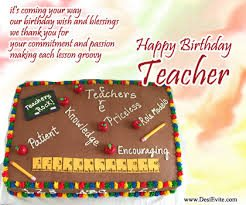 happy birthday letter to a teacher happy birthday wishes for teachers birthday wishes zone 16142