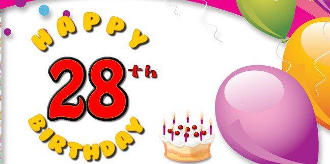 Happy 28th birthday wishes best 28th birthday greetings birthday 28th birthday wishes m4hsunfo